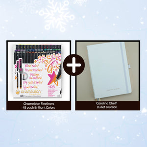 Chameleon Fineliner Gifting Bundle with Bujo