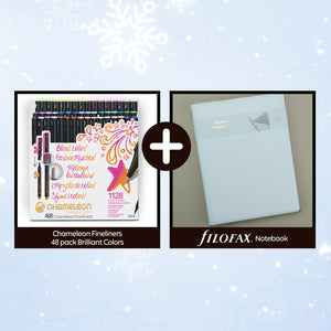 Chameleon Fineliner Gifting Bundle with Filofax