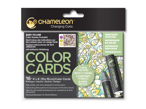 Chameleon Color Cards – Blumenmuster