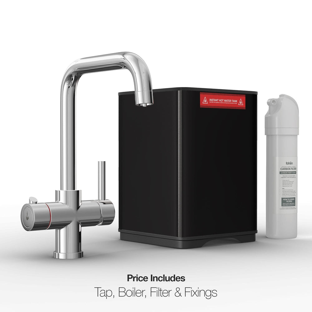 Load image into Gallery viewer, Fohen CK01A Fohën Fahrenheit Polished Chrome Instant Boiling Water Tap