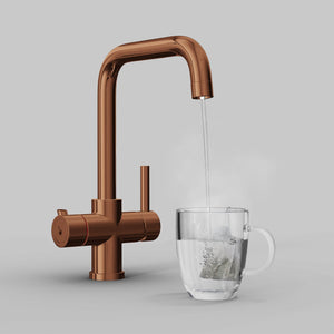 Load image into Gallery viewer, Fohen CK01B Fohën Fahrenheit | Polished Bronze Instant Boiling Water Tap