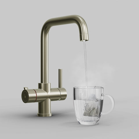 Fohen CK01N Fohën Fahrenheit | Brushed Nickel Instant Boiling Water Tap