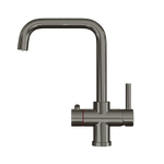 Fohën Fahrenheit | Polished Gunmetal Grey | 3-in-1 Instant Boiling Water Tap