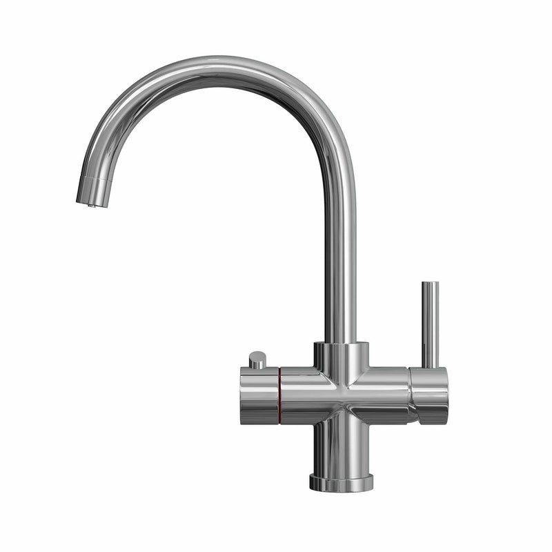 Fohen Fohen Furnas | Polished Chrome Boiling Water Tap with Swan Neck