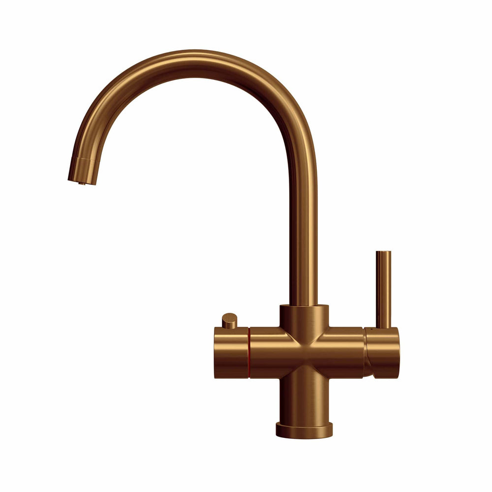 Load image into Gallery viewer, Fohen CK02C Fohën Furnas | Brushed Copper Boiling Water Tap