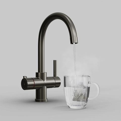 Fohen CK02M Fohën Furnas Brushed Gunmetal Grey Boiling Water Tap