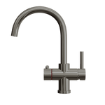 Fohën Furnas | Polished Gunmetal Grey | 3-in-1 Instant Boiling Water Tap