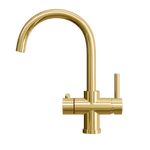 Fohën Furnas | Titanium Gold | 3-in-1 Instant Boiling Water Tap