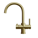 Fohën Furnas | Unfinished Brass | 3-in-1 Instant Boiling Water Tap