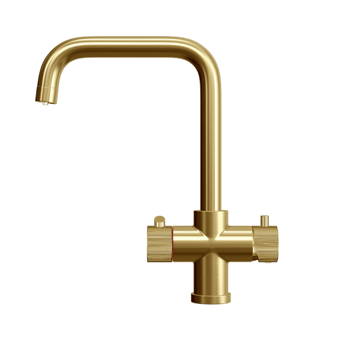 Fohen CK03G Fohën Brushed Gold Instant Boiling Water Kitchen Tap