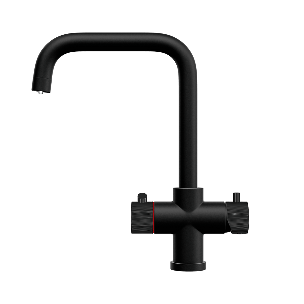 Fohën Flagro | Matt Black | 3-in-1 Instant Boiling Water Tap