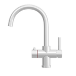Fohën Furnas | Silk White Boiling Water Tap with Swan Neck