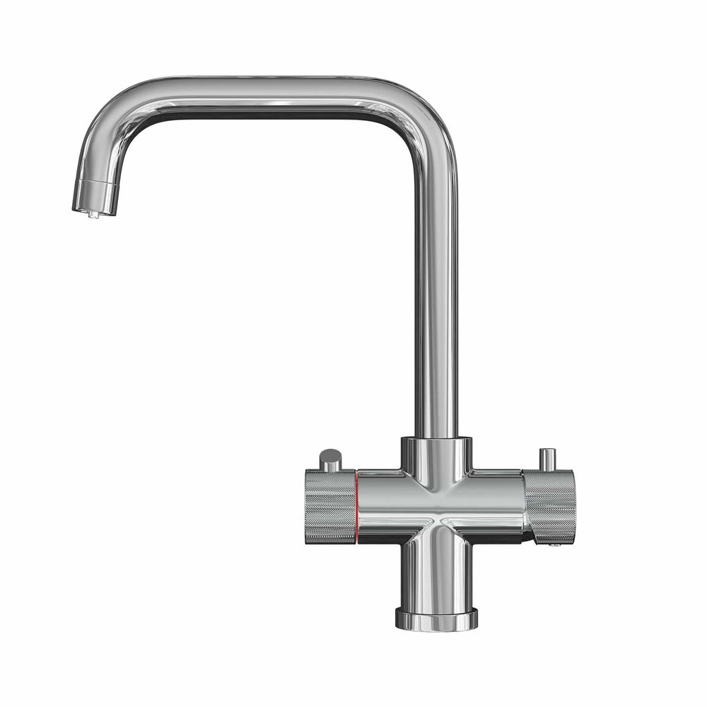 Fohën Flagro | Polished Chrome 3-in-1 Instant Boiling Water Tap
