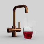 Fohen CK01C Fohën Fahrenheit | Brushed Antique Copper Instant Boiling Water Tap