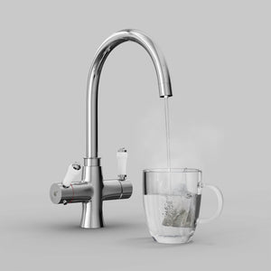 Load image into Gallery viewer, Fohen TK01A Fohën Fantale | Polished Chrome Instant Boiling Water Taps