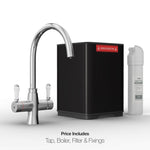 Fohen TK01A Fohën Fantale | Polished Chrome Instant Boiling Water Taps