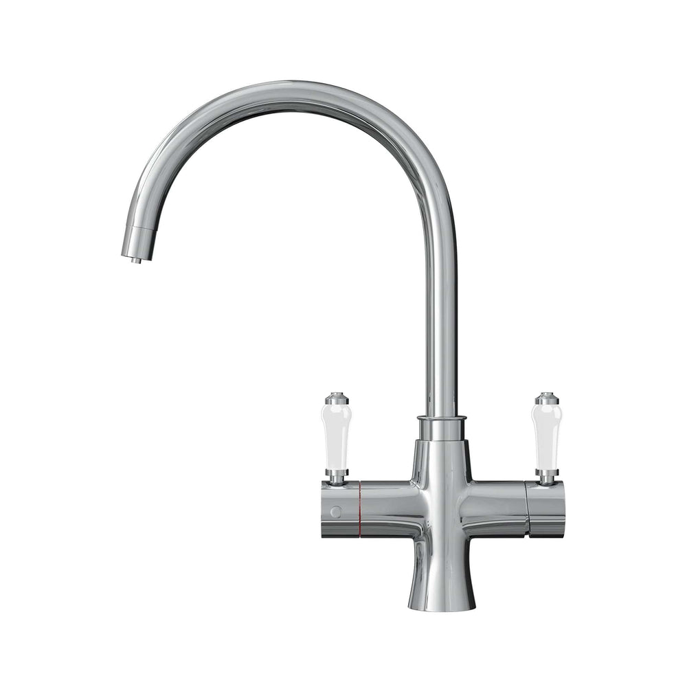 Fohën Fantale | Polished Chrome | Victorian Instant Boiling Water Tap