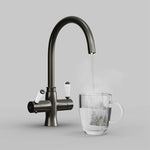 Fohën Fantale | Brushed Gunmetal Grey | 3-in-1 Instant Boiling Water Tap