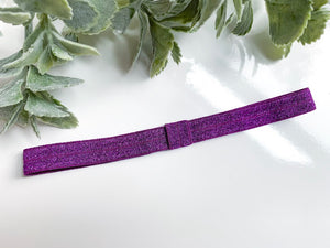 Purple Shimmer Forever Headband