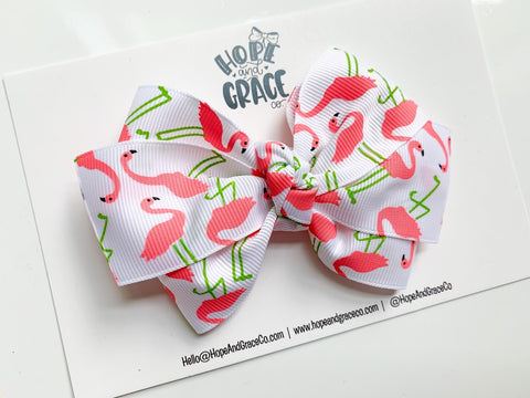 Flamingo Ribbon