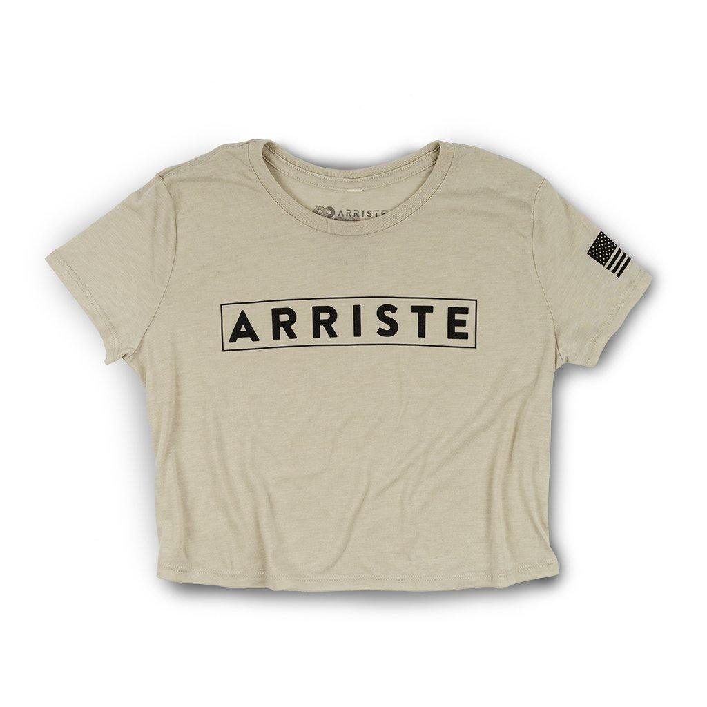 Edge Flowy Crop Top - Dust - Arriste