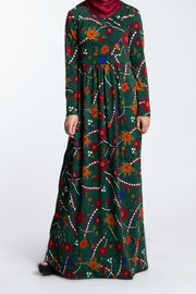 SOLIDIFY JERSEY MAXI-  LUSH GREEN