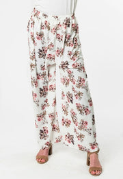 OFF-WHITE FLORAL PANT
