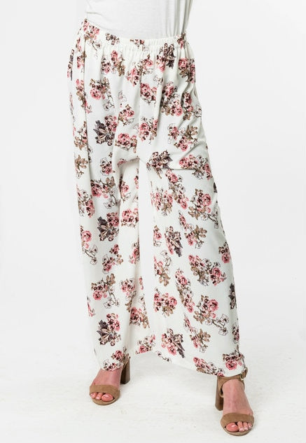 OFF-WHITE FLORAL PANT - www.abayaaddict.com