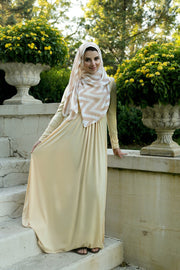 GOLD SOLIDIFY - JERSEY MAXI