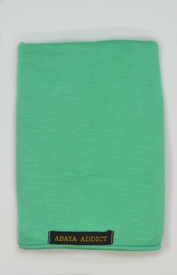 Sea Green Jersey Hijab