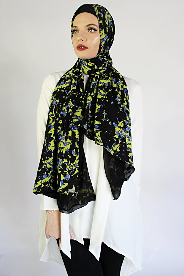 Lite Bright Printed HIJAB