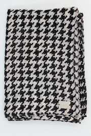 Black Houndstooth Printed HIJAB