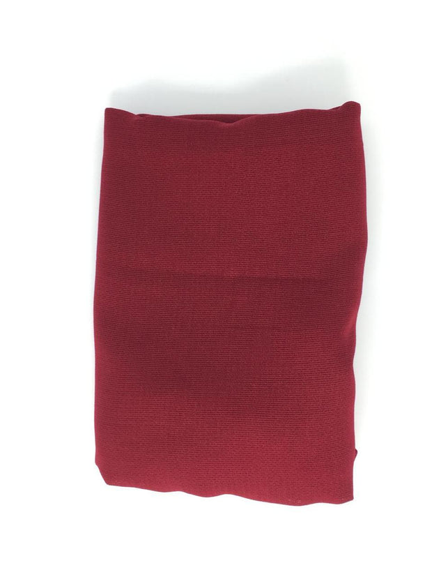 Cranberry Red Linen Hijab