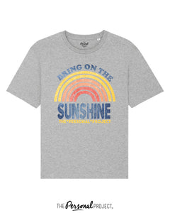 BRING ON THE SUNSHINE TEE-SHIRT GREY (exclu web)