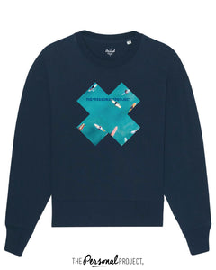 THE SURF BLUE CREW NAVY (exclu web)