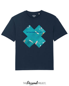 THE SURF BLUE TEE-SHIRT NAVY (exclu web)