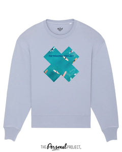 THE SURF BLUE CREW SERENITY BLUE (exclu web)