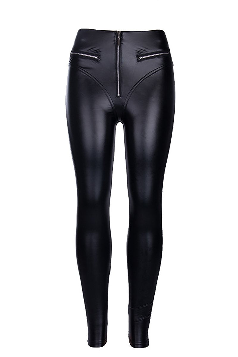 Eco Leather Leggings
