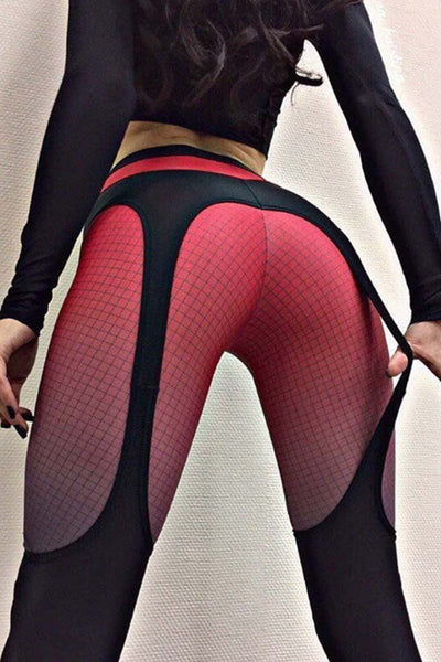 Suspender Fitness Leggings