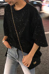 Oversized Speckled T-shirt
