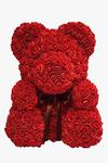 Valentines Flower Teddy Bear