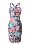 Sweeheart Floral Dress