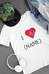 Personalized Valentine's Day T-shirt