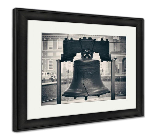 Framed Print, Liberty Bell In Philadelphia