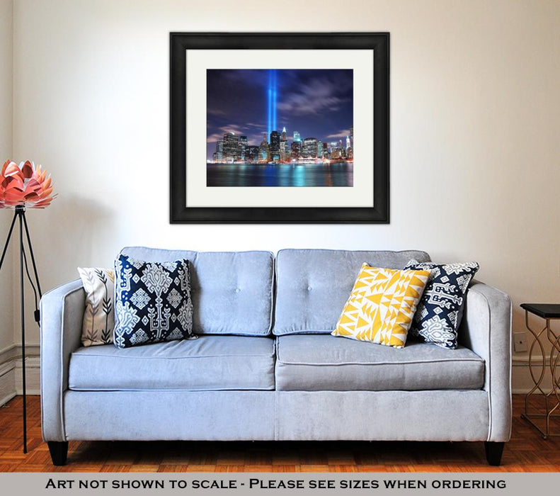 Framed Print, New York City