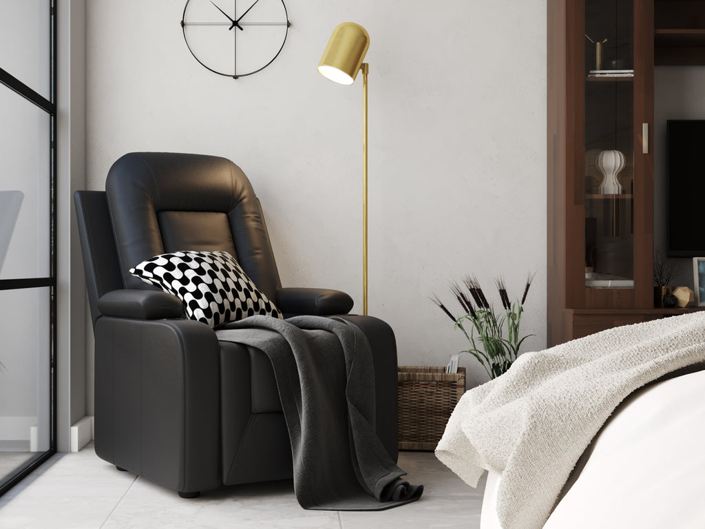 Black Jordan Single Seater Recliner