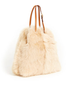 Tie Shopper - S / Biscuit Shearling & Tan - (ki:ts)