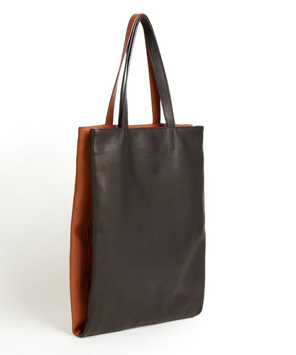 Twins Shopper / Black & Whisky
