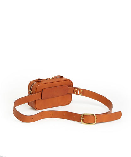 Waist Bag Hard - S / Tan - (ki:ts)