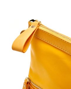Fold Purse with shoulder strap / Sunflower - (ki:ts)